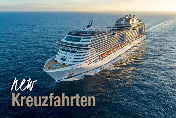 Kreuzfahrten MSC Cruises Ozenanien Tours