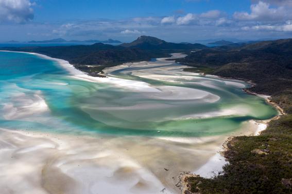 Australien Whitsundays Rundflug Ozeanien Tours