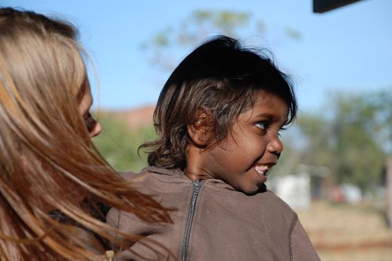 Arnhemland Australien Aborigines Mädchen Ozeanien Tours