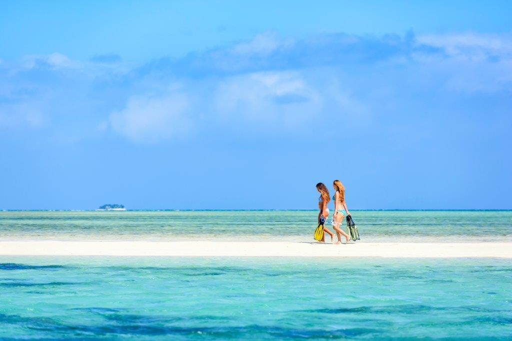 Fiji Sandbank Schnorcheln Ozeanien Tours
