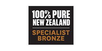 Neuseeland Ozeanien Tours Logo Bronze Specialist