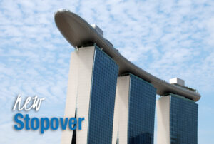 Singapur Marina Bay Sands Hotel Stopover Ozeanien Tours Weltroute