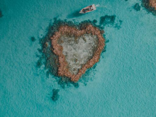 Australien Whitsundays Heart Reef Ozeanien Tours Weltreise