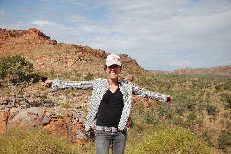 Australien Outback Andrea