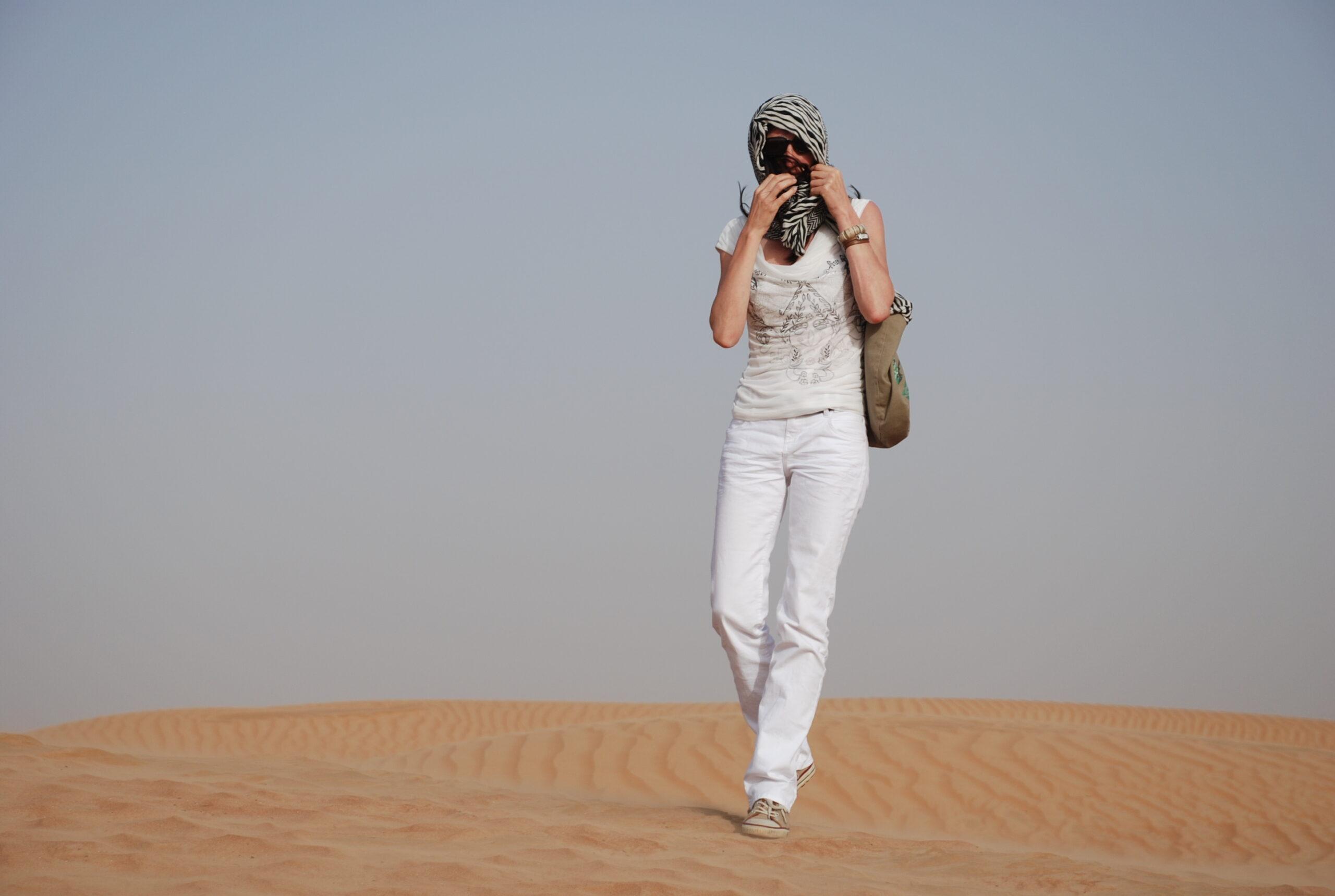 Dubai Sanddüne Moni