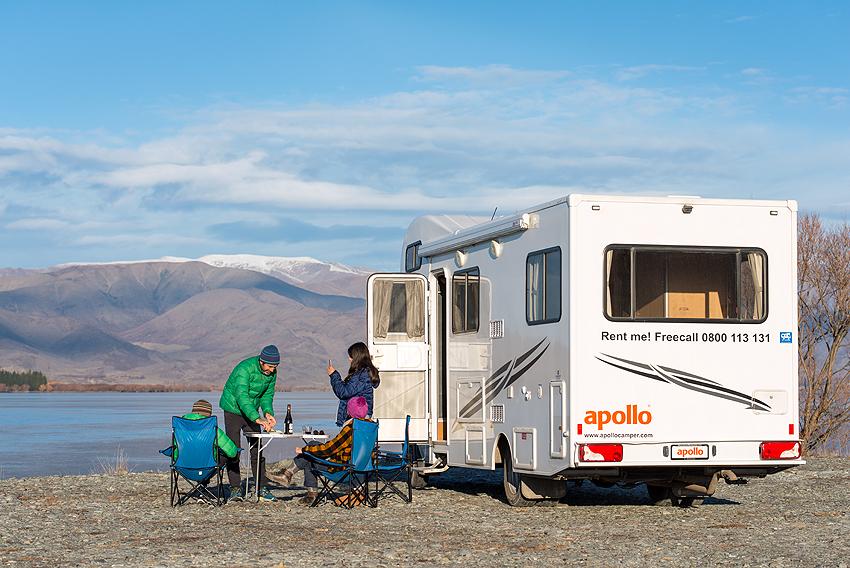 Neuseeland Apollo Camper Euro Tourer Mount Cook Ozeanien Tours