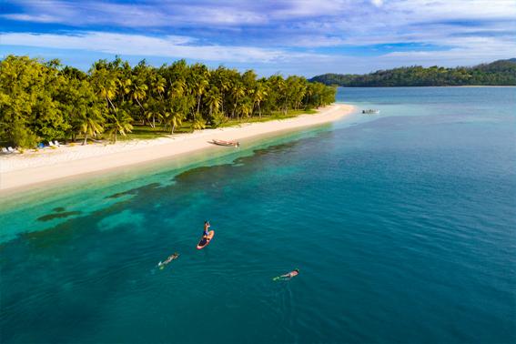 Blue Lagoon Fiji Südsee Ozeanien Tours