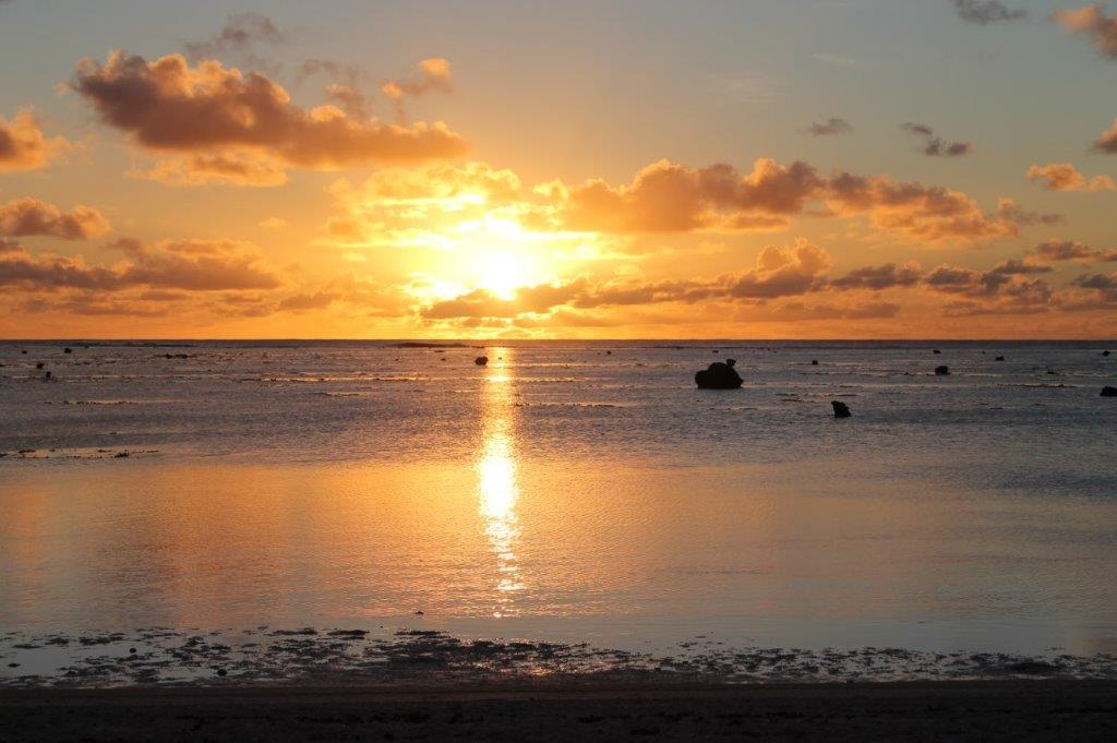 Rarotonga Manuia Beach Hotel Sundwoner Ozeanien Tours