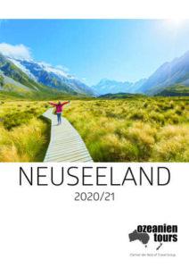Neuseeland Titelbild Milford Sound Katalog 2020 und 2021