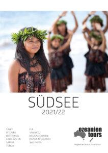Südsee Katalogbild Mädchen Ozeanien Tours