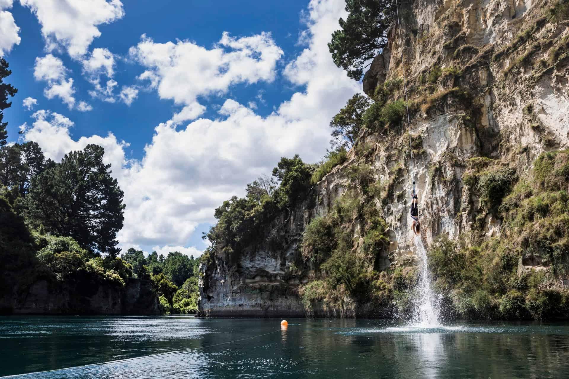 Taupo Bungee Jumping Neuseeland Ozeanien Tours
