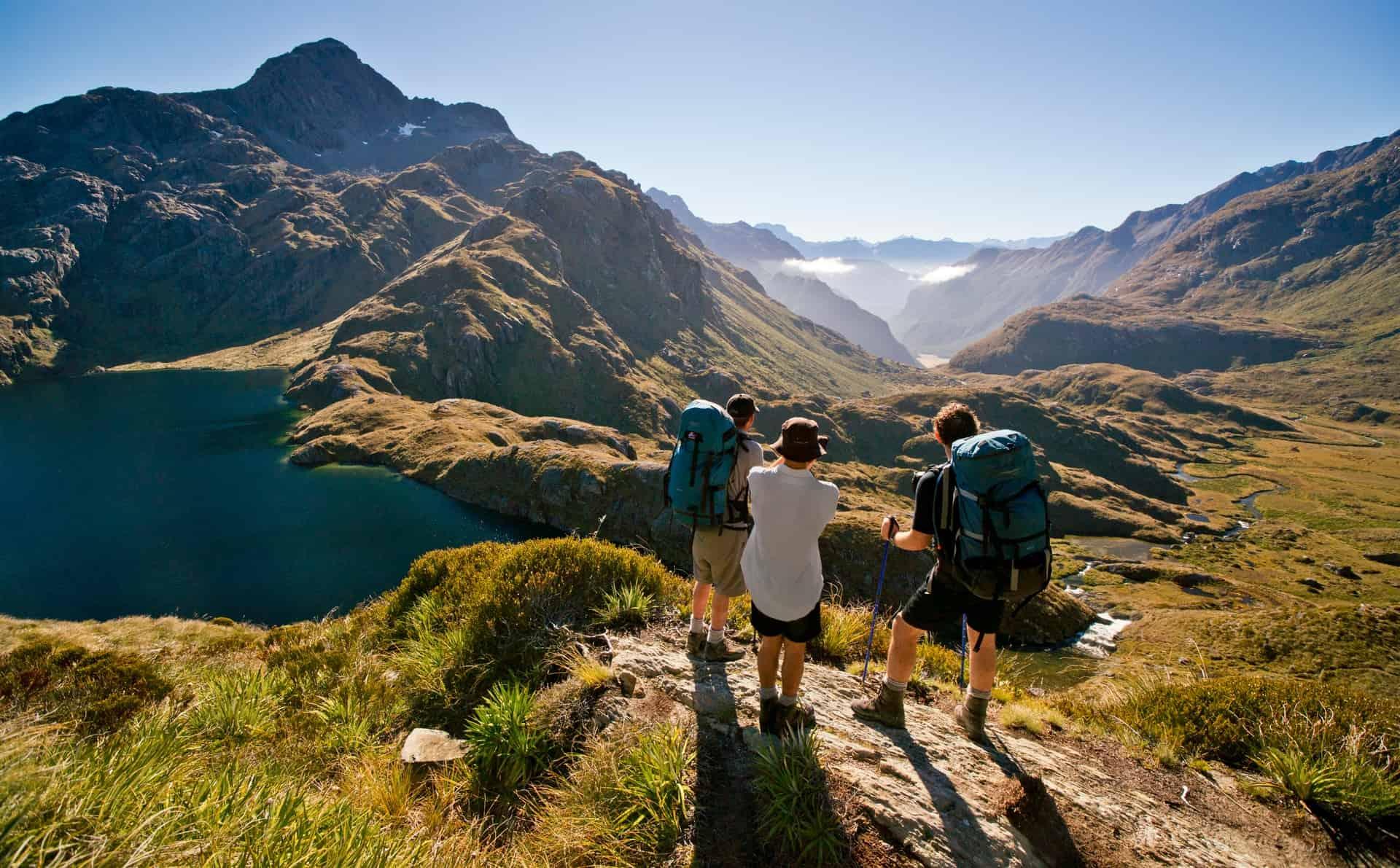 Neuseeland Südinsel Routeburn Track Fiordland Ozeanien Tours