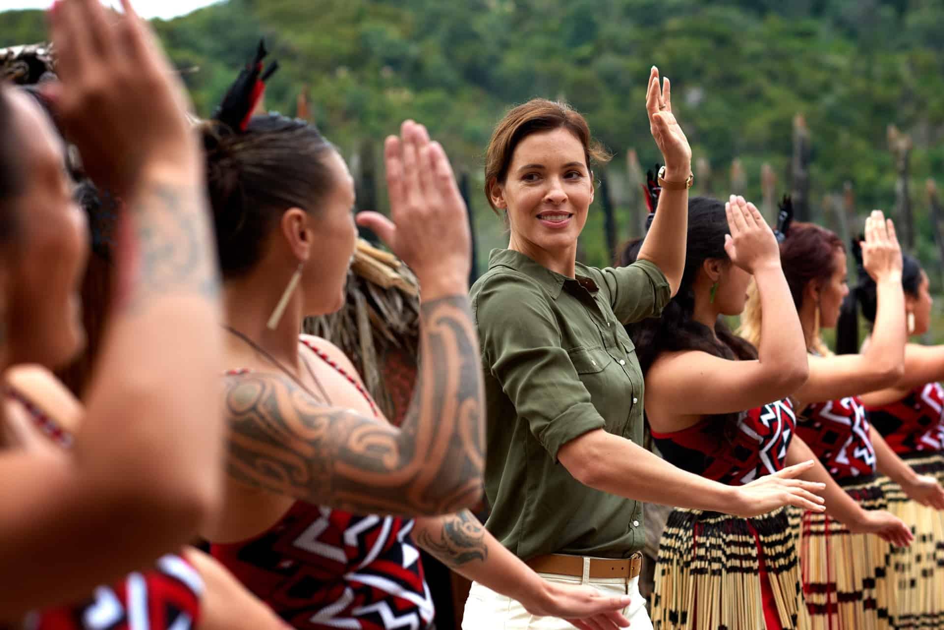 Maori Kultur Rotorua Te Puia ©Fraser Clements Ozeanien Tours